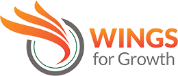 WINGS For Growth Logo