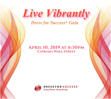 Live Vibrantly Dress for Success 2019
